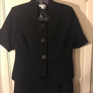 Black suit- skirt and jacket